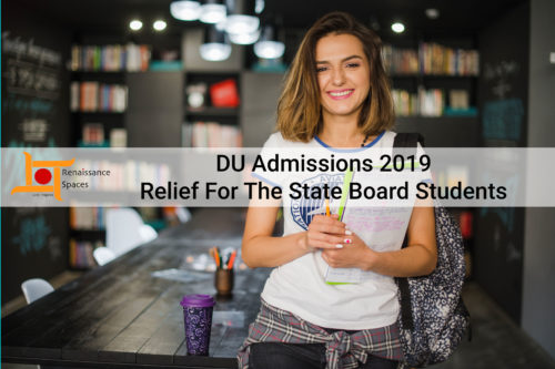 DU Admissions 2019 : Relief For The State Board Students